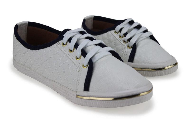 77810783d Sapatênis Feminino Sola Emborrachada - Dakaca Fashion Shoes