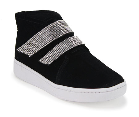 5c964e71f93a8 Tênis Feminino Cano Alto Sola Emborrachada - Dakaca Fashion Shoes